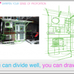 How to draw an hostel with good proportion | VIDEO |TIP146