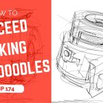 How to succeed your drawings making ugly doodles! | TIP 174