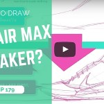 How to draw the Nike Air Max | The Sneaker 1 minute sketching tutorial