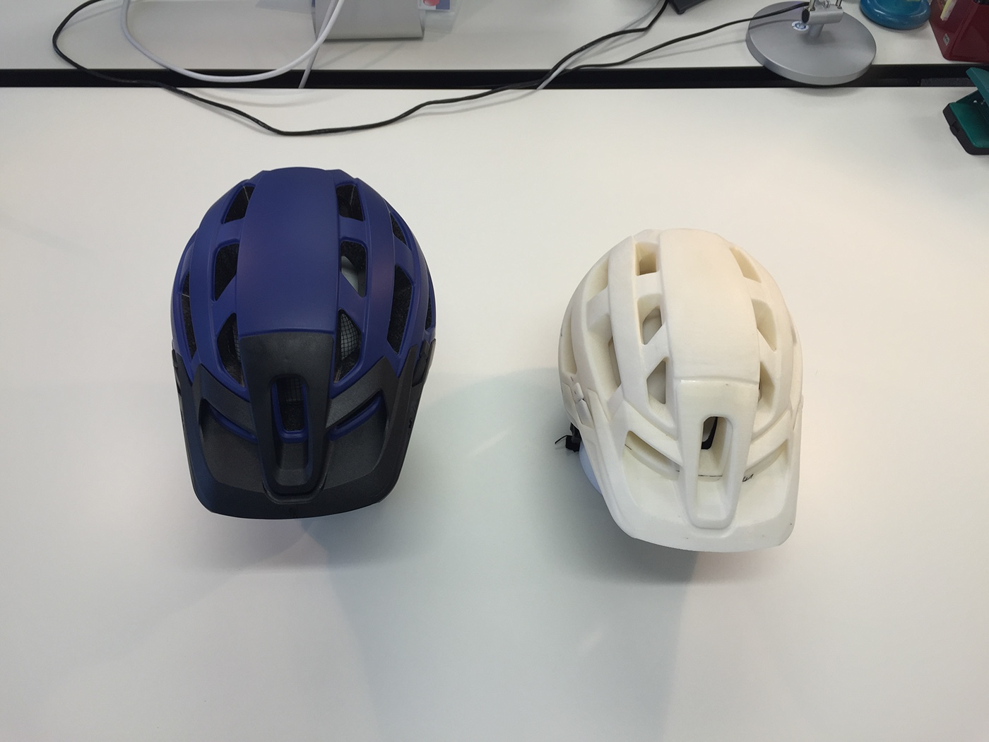 Noah Sussman Sports Product designer Uvex sports helmet prototype