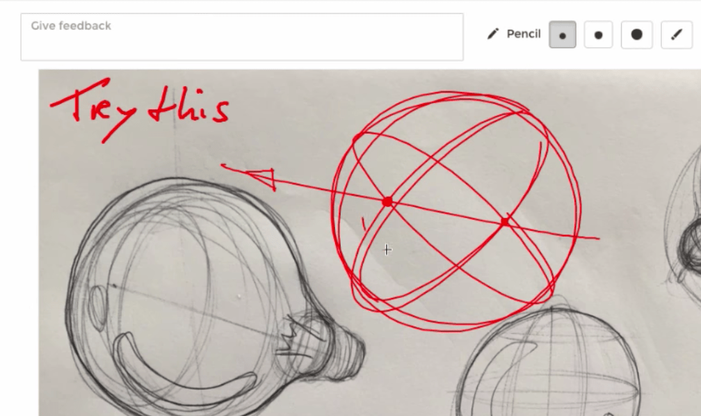 How to sdraw a light bulb from any angle! (Sphere + Ellipse)| TIP 199