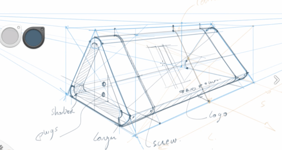Line Drawing Software Free Download : The design sketchbook product sketching tutorials