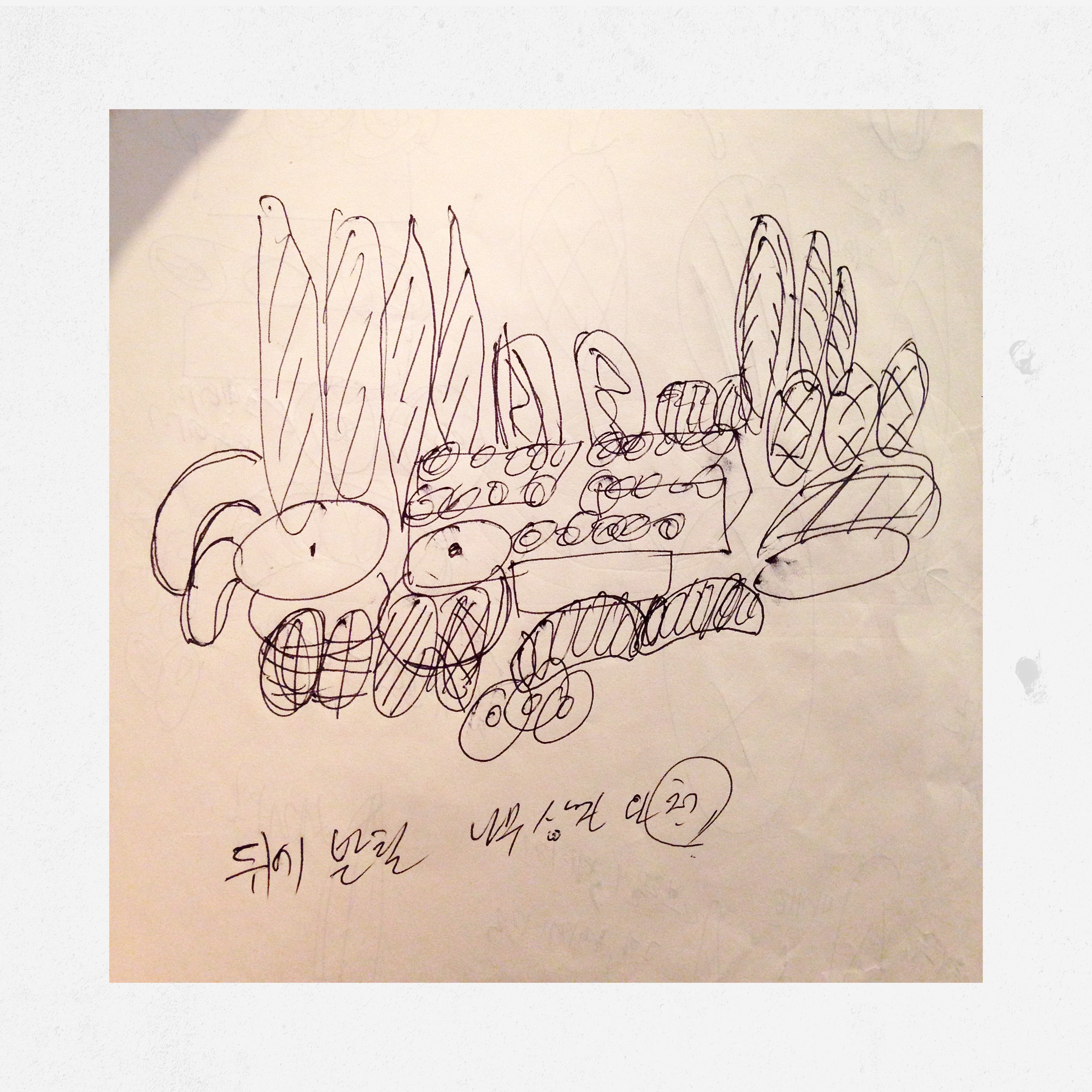 Draw something you feel shame of is 1000times better than nothing // Interview with Kim, a baker from Seoul