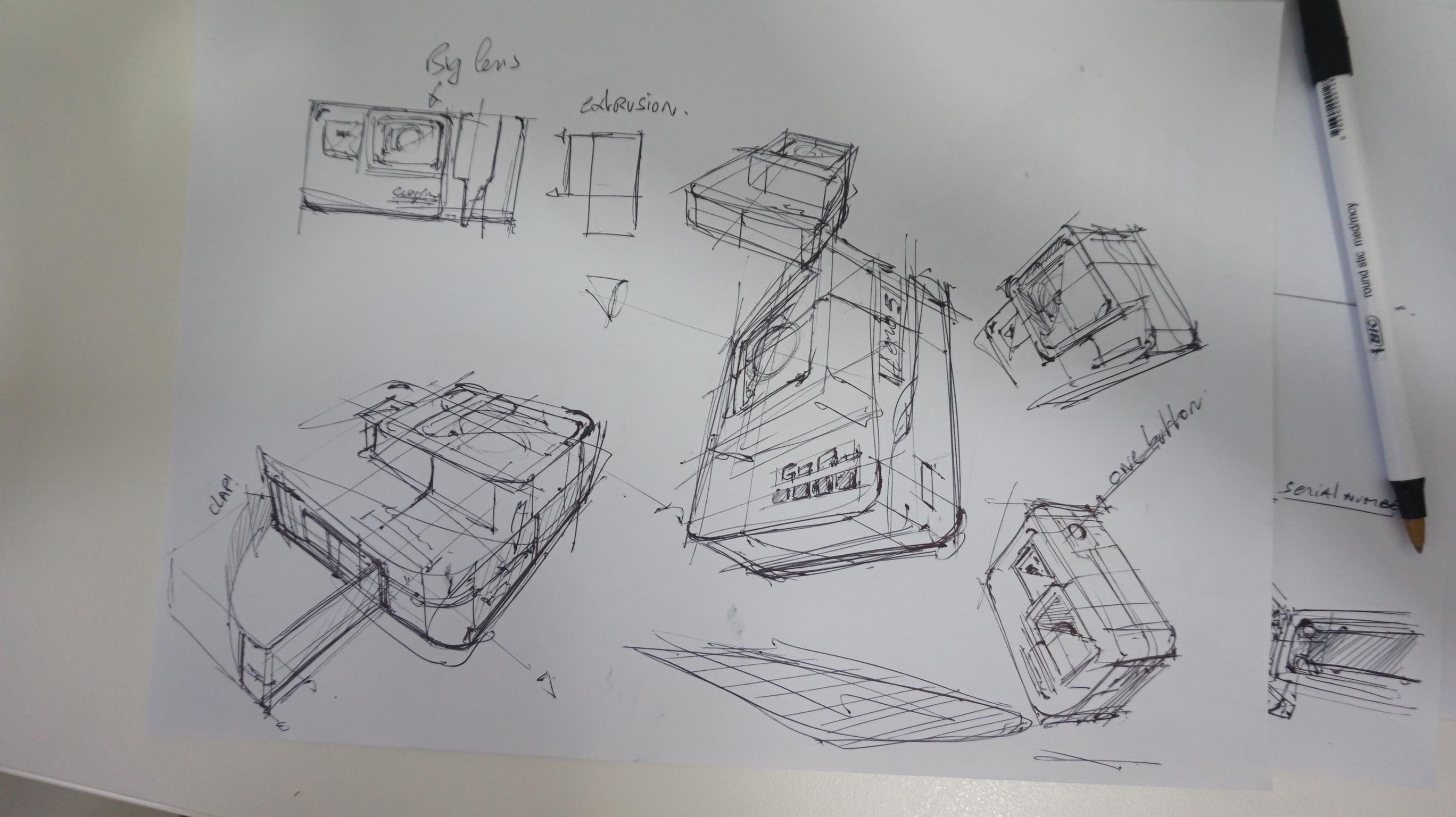 c Ugly Doodle Sketching a Go Pro - product design sketching tutorial the design sketchbook chou-tac