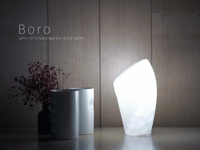 Boro project SADI Samsung Art and Design Institute product design