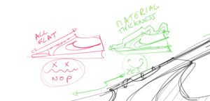 """The """"FLAT 2D SHOE"""" common mistake"""
