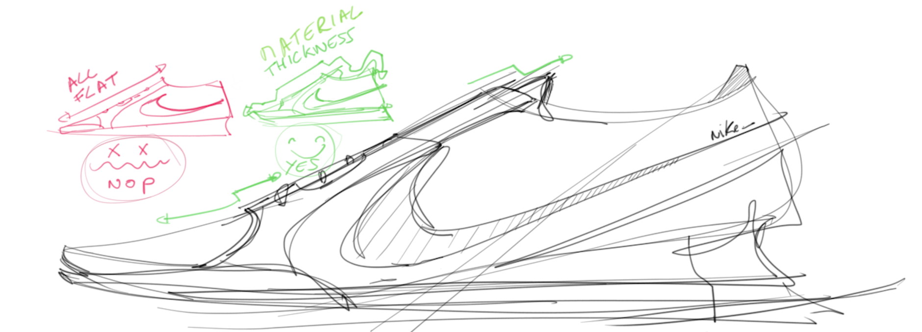 A simple trick to draw your sneaker more real TIP 229