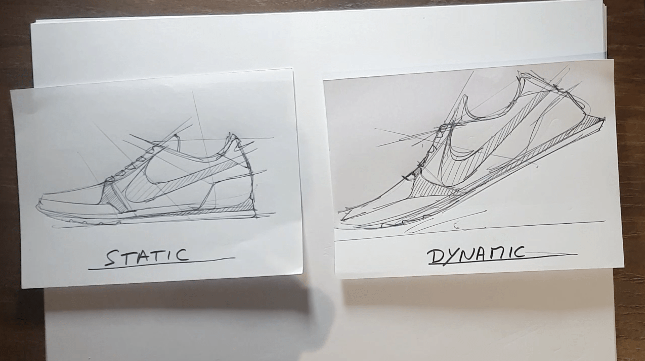 Level up your sneaker sketching skills!