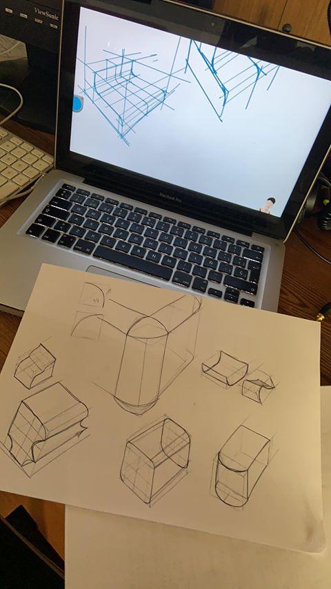 Armpi sketch with the design sketchbook tutorial youtube