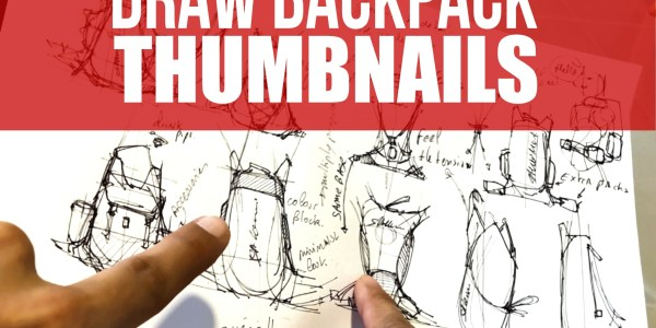 How to draw BackPack thumbnails