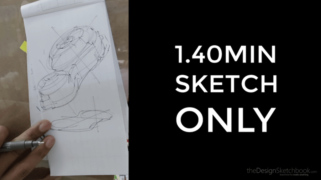 As a product designer, fast sketching is your best communication tool.
