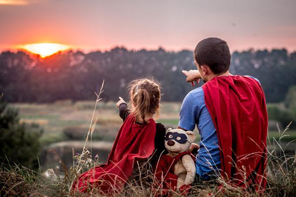 kids hero - nurture courage