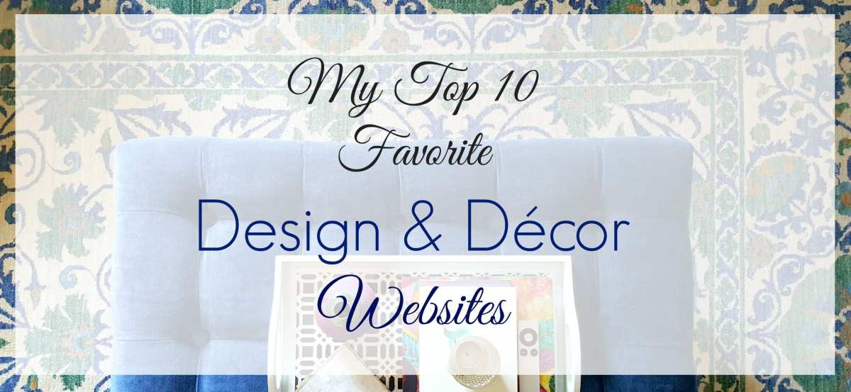 My Top 10 Favorite Design Sites Right Now