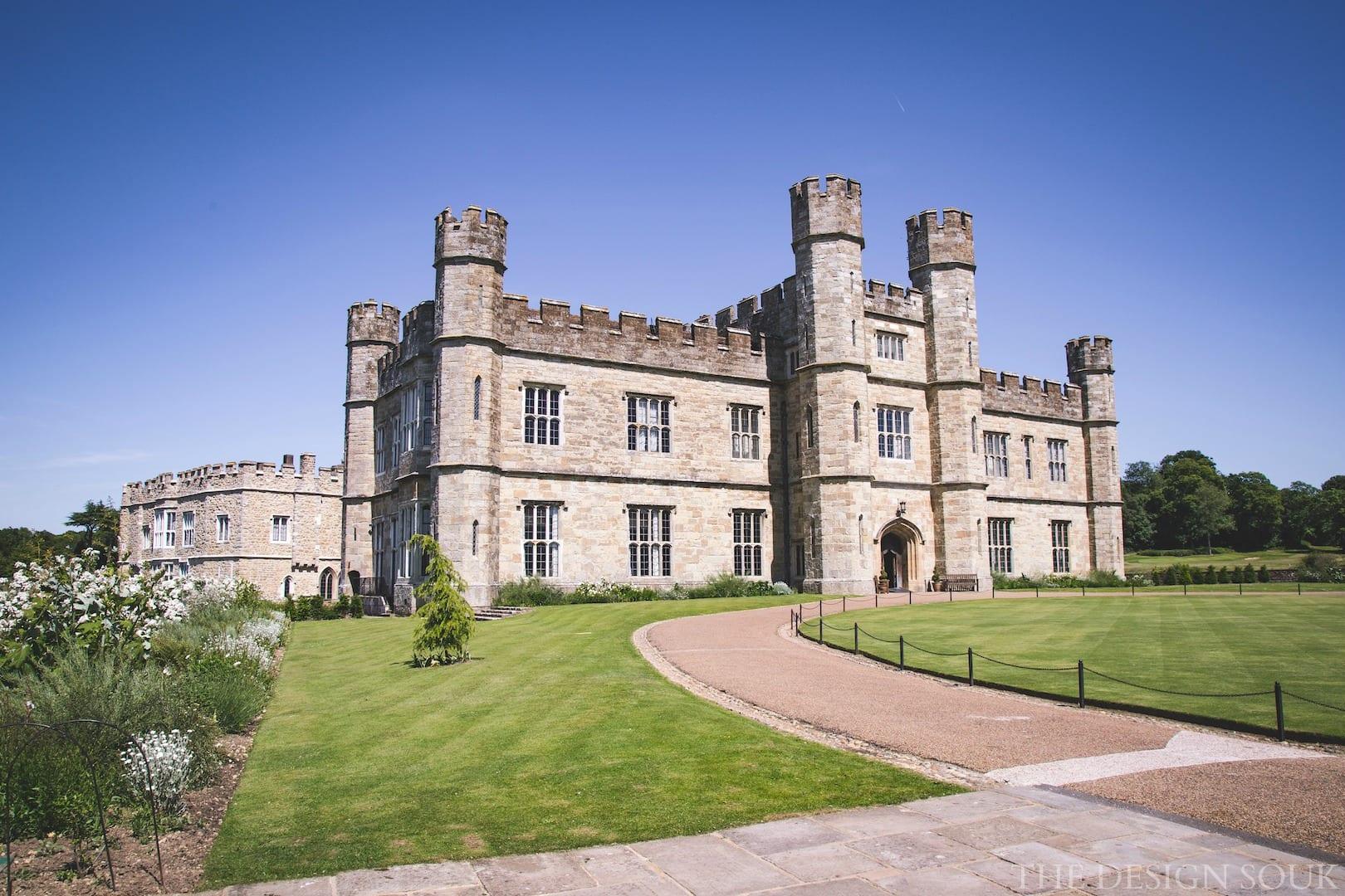 The castles of kent leeds castle the design souk an for Castle design