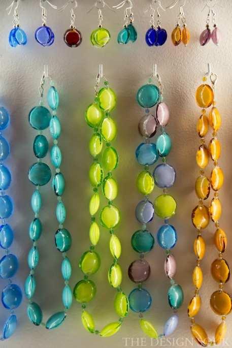 Glass Jewelry in Bellagio