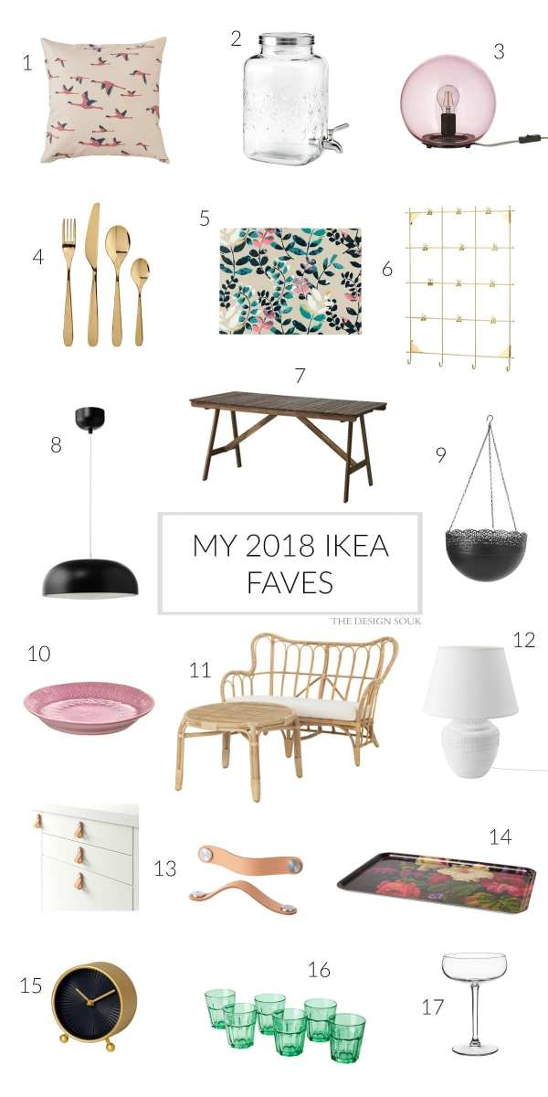 My 2018 IKEA Faves