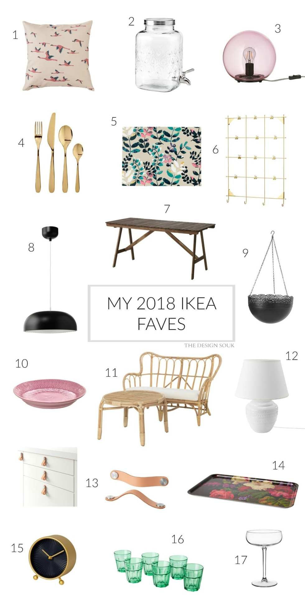 My 2018 IKEA Faves | THE DESIGN SOUK | www.thedesignsouk.com