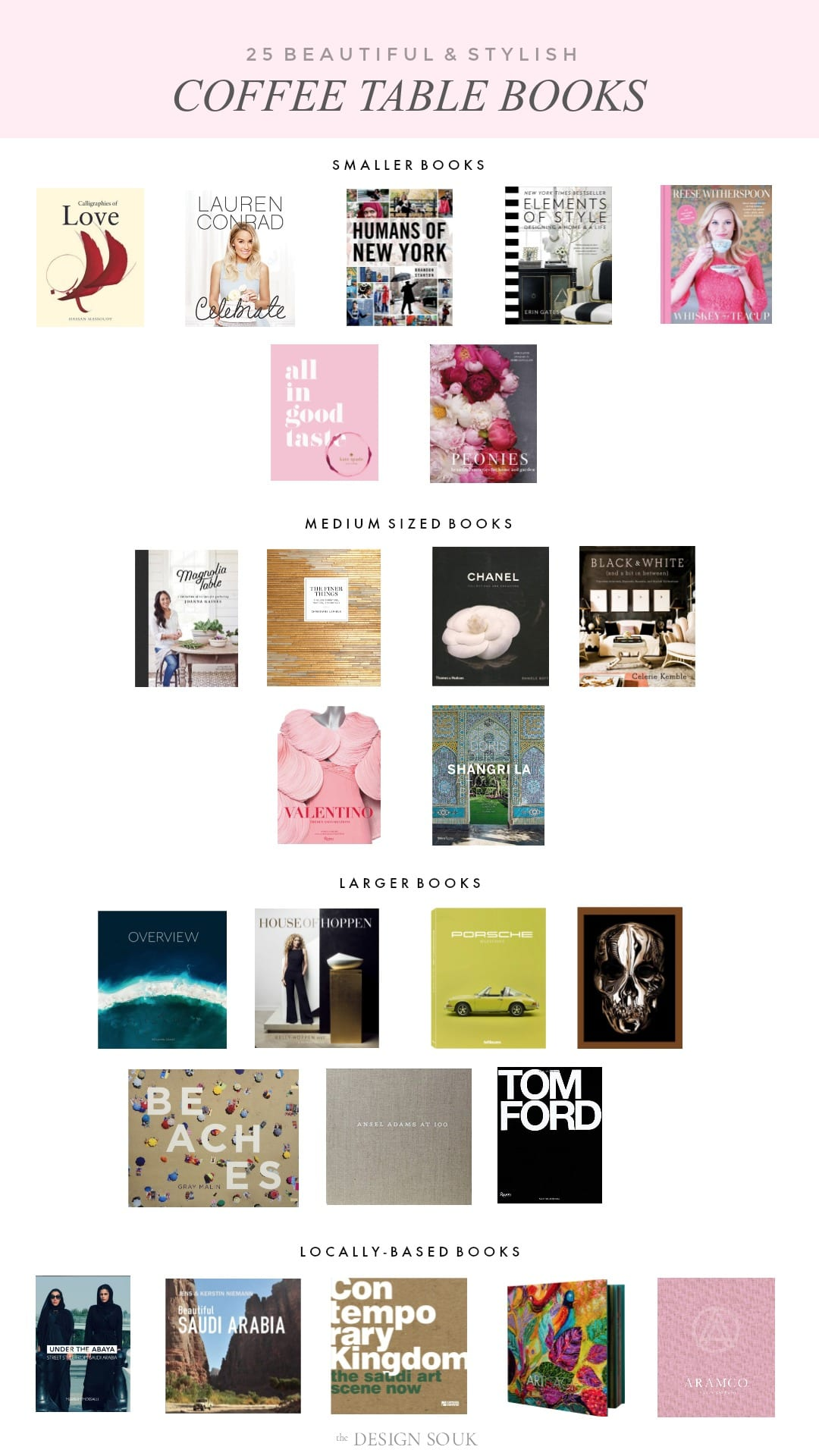 25 Beautiful Stylish Coffee Table Books The Design Souk