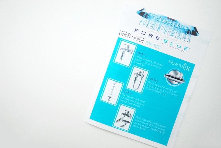 favorite thing shower filter by pure blue the desi wonder woman. Black Bedroom Furniture Sets. Home Design Ideas
