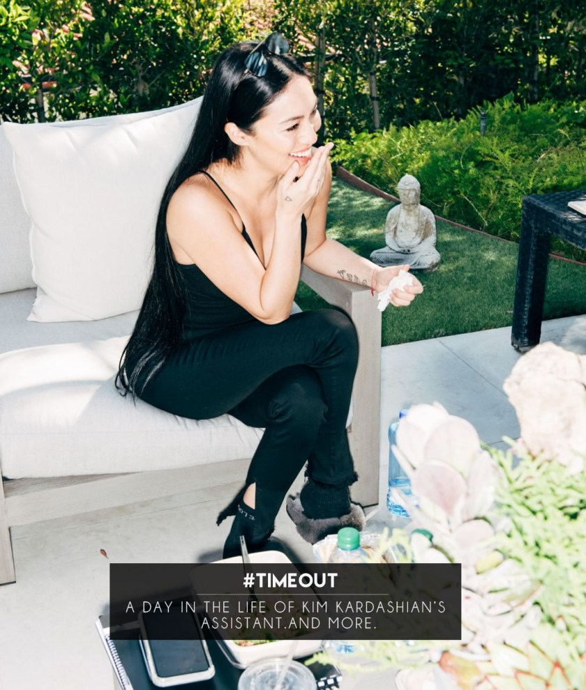 A day in the life of kim kardashian's assistant