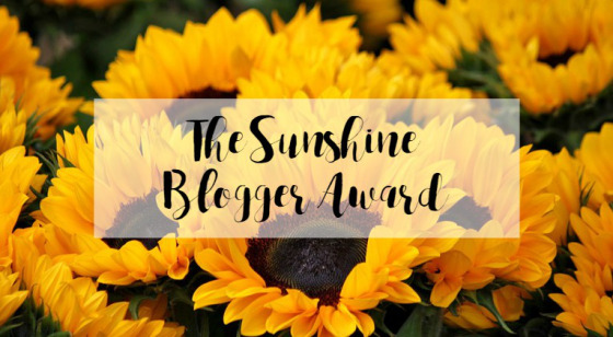 The Sunshine Blogger Award Comes To The Desi Writer