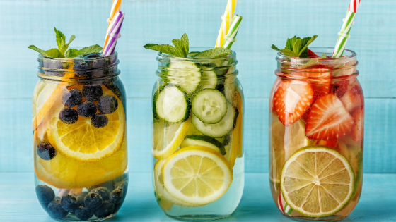 5 Tasty Infused Water Recipes For Flat Belly