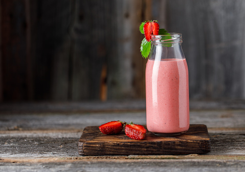 Healthy Strawberry Banana Smoothie For Weight Loss