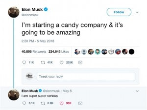 After Sour Note With Analysts, Musk Tweets a Sweet Message ...