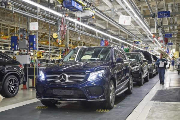 MercedesBenz Kicks Off GLE Production in Alabama