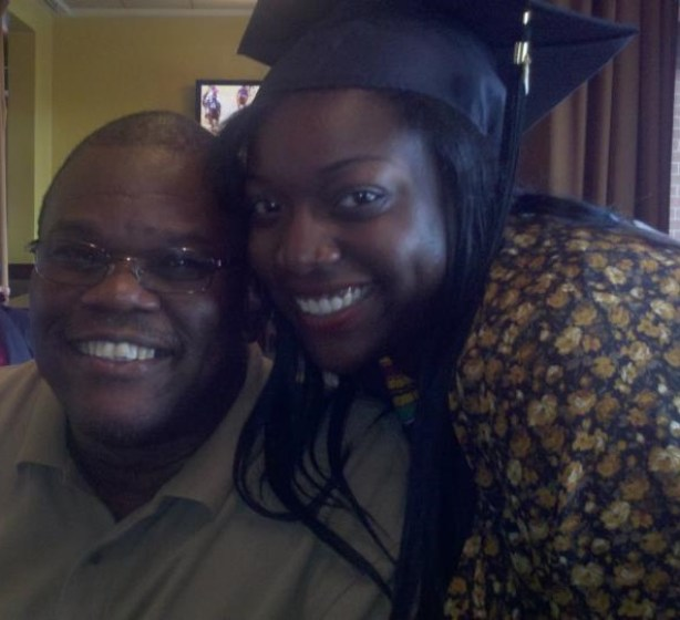 My dad and I, graduation day!