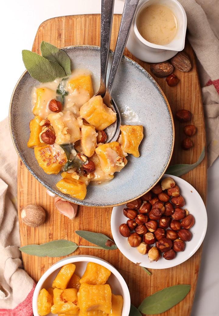 Pumpkin Gnocchi from My Darling Vegan