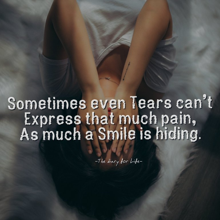 Sad quotes about life and pain-thediaryforlife