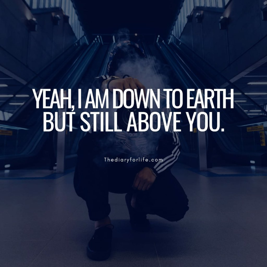 down to earth quote