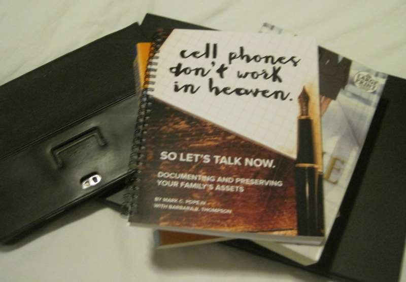 CELL PHONES DON'T WORK IN HEAVEN – BOOK REVIEW
