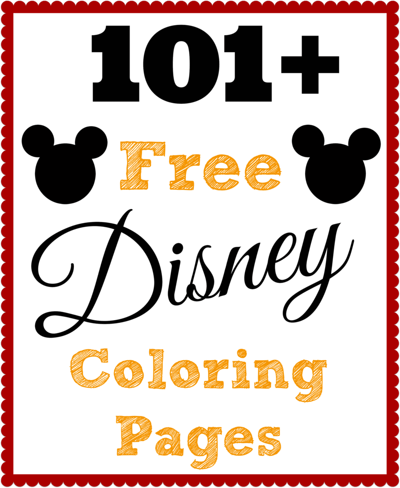 101 Free Printable Disney Coloring Pages • The Diary of a ...   free printable disney coloring pages for toddlers