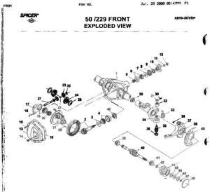 2000 F250 Front Axle Diagram   Online Wiring Diagram