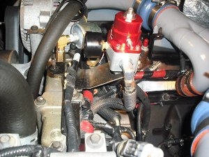 Electrical fuel conversion insall  Diesel Forum  TheDieselStop
