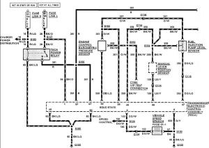 Wiring schematic for 90 E350 73 from TPS needed  Diesel