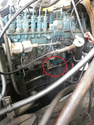 1995 DT466 Fuel line  Diesel Forum  TheDieselStop