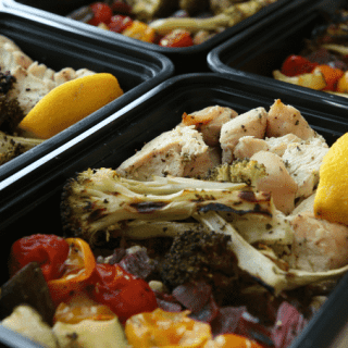 Healthy chicken meal prep recipe