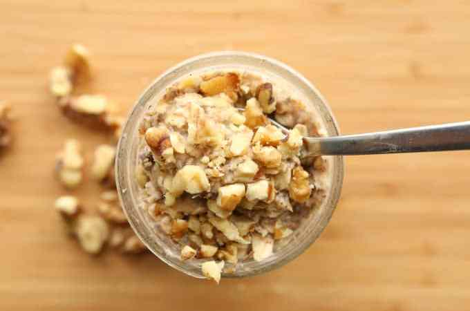 Banana Overnight Oats Recipe (Healthy & Easy)