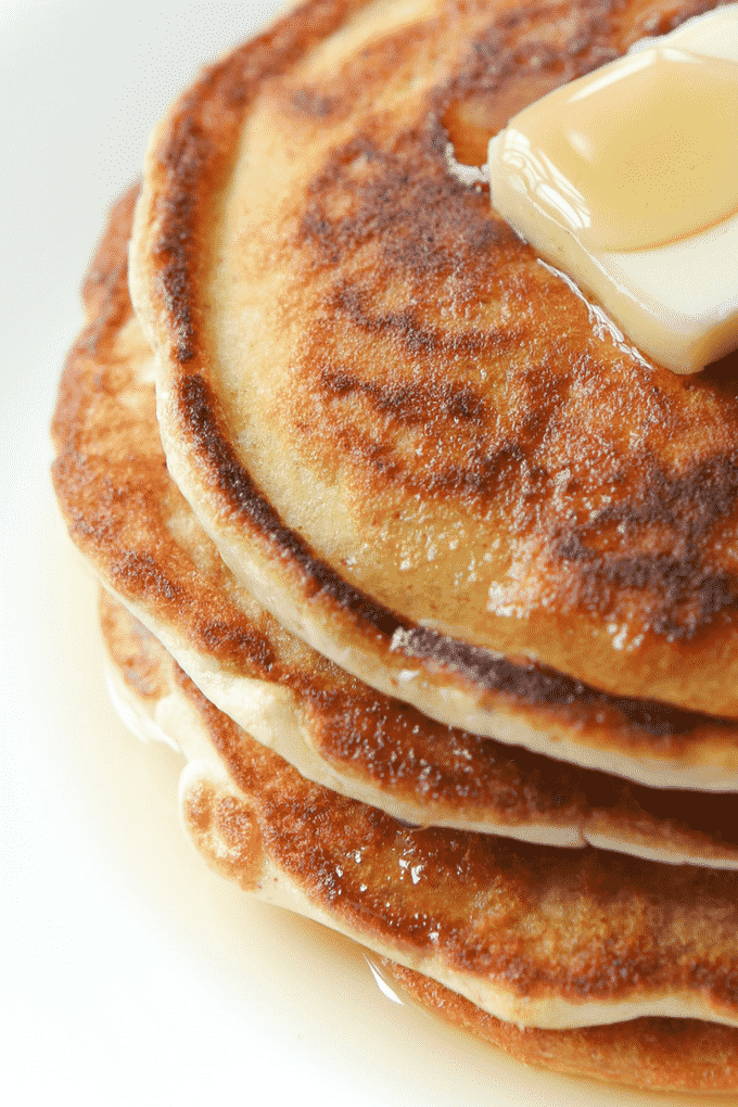 The BEST Keto Pancakes with an almond flour base! This easy low carb Pancake recipe is made with eggs, cottage cheese, and of course almond flour, but tastes like a fluffy pancake you'd get at IHOP