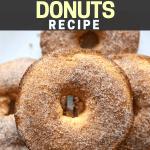 Easy Low Carb Keto Cinnamon Sugar Donuts Recipe