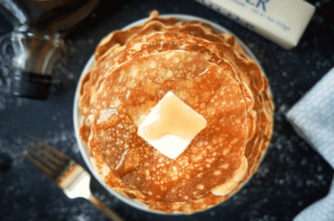 Keto Pancakes! Low Carb Coconut Flour Cream Cheese Pancakes.