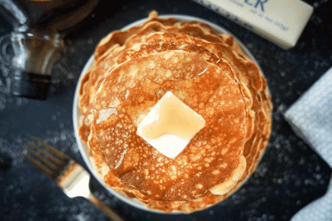 Keto Pancakes! Low Carb Coconut Flour Cream Cheese Pancakes.