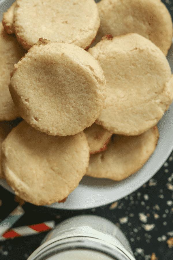 Keto Shortbread Cookies! The Best Easy Low Carb Shortbread Cookie Recipe