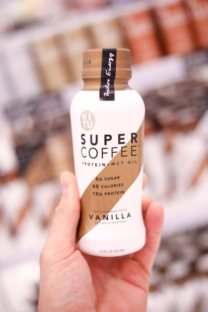 Super Coffee! One of the best keto snacks at Target.