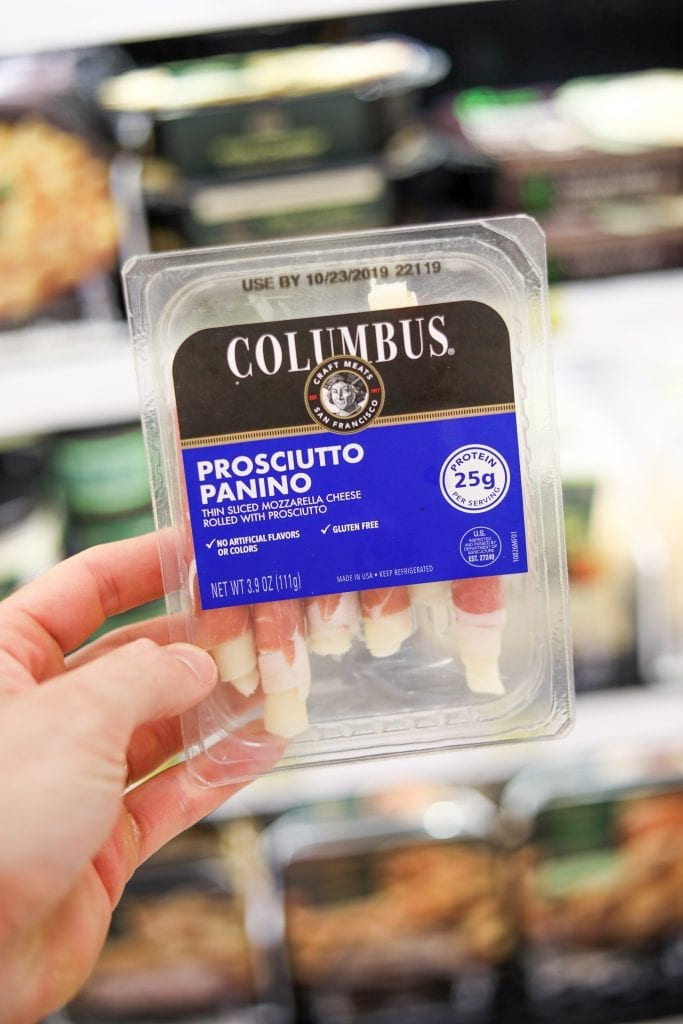 One of the BEST Keto Snack Ideas Colombus' Prosciutto Paninos!