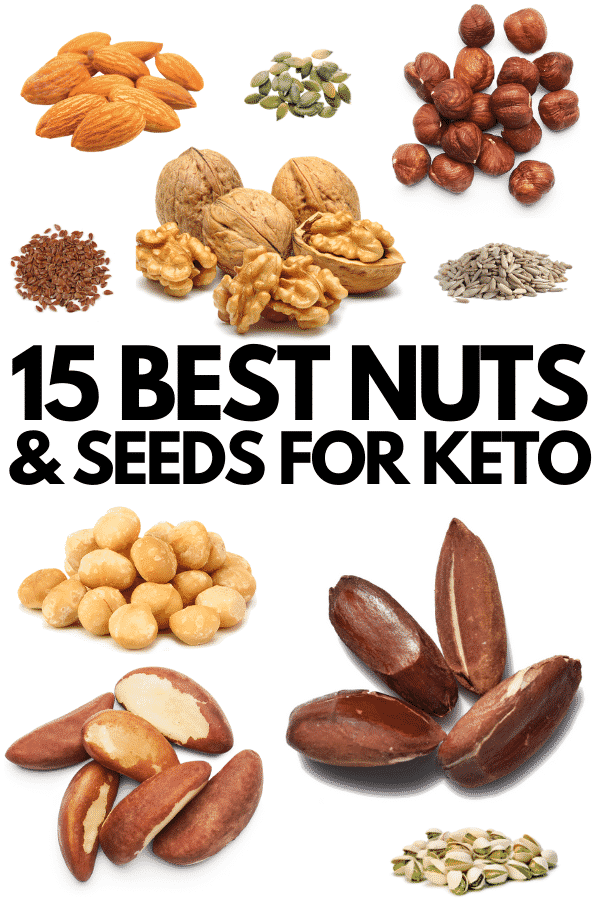 are nuts included in the keto diet