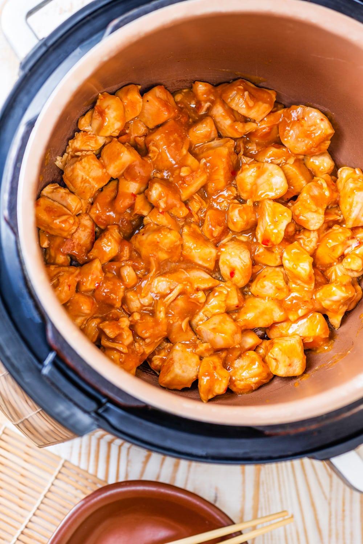 Orange Chicken in an Instant Pot.
